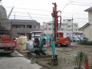 基礎工事の様子2