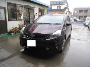 新車プリウスアルファ