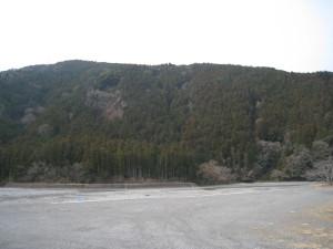 秋葉神社下社近くの川