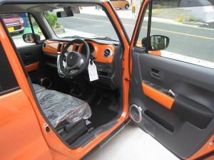 運転席開放