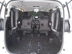 サードシート収納