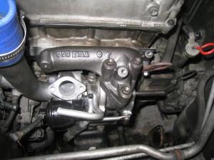 エンジン排気管
