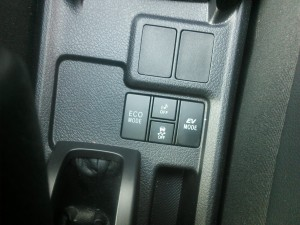 HVモード切り替えスイッチ